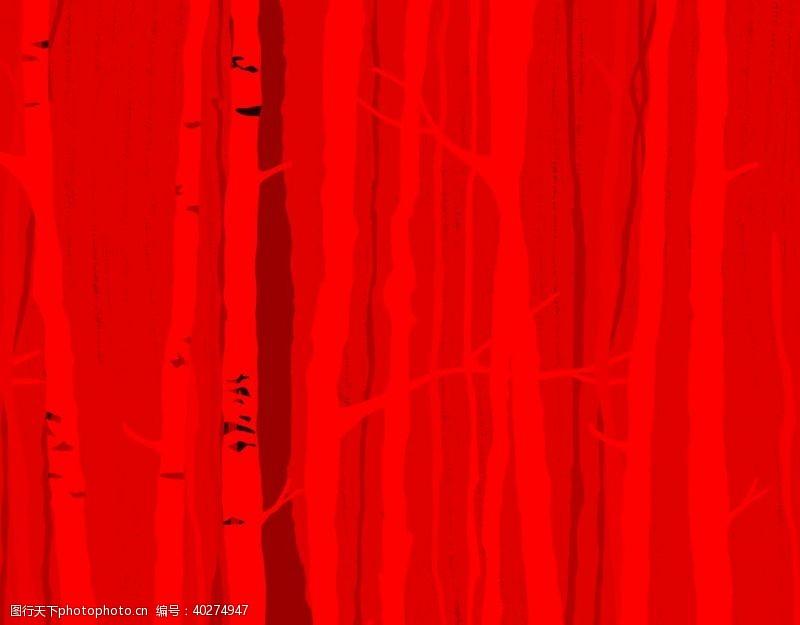 原创设计红色背景图片