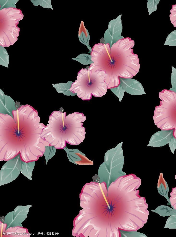 花背景花朵背景图片