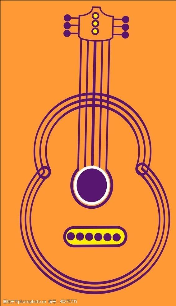 q版本吉他图片