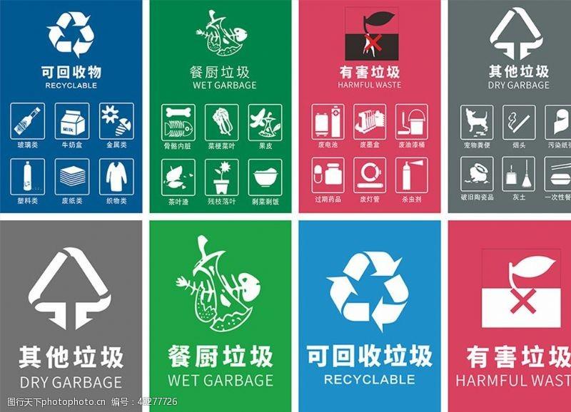 环保展板垃圾分类深圳板图片