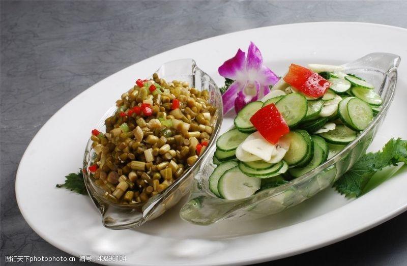新鲜凉菜荤菜冷拼图片