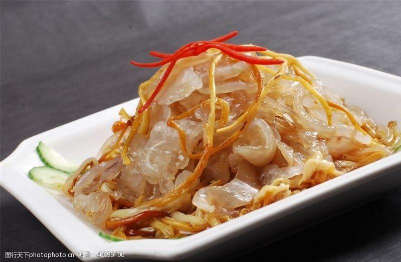 美食海报凉菜荤菜冷拼图片