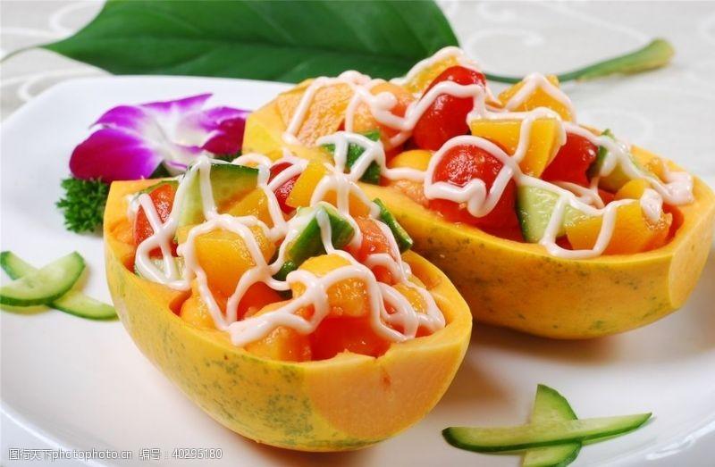 文化凉菜荤菜冷拼图片