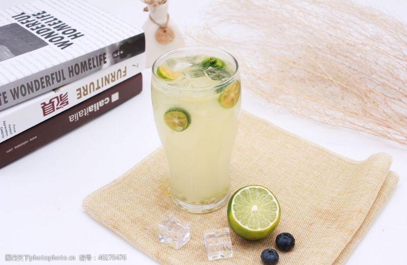 水果茶柠檬水图片