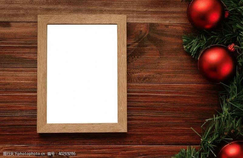 圣诞节摄影图片