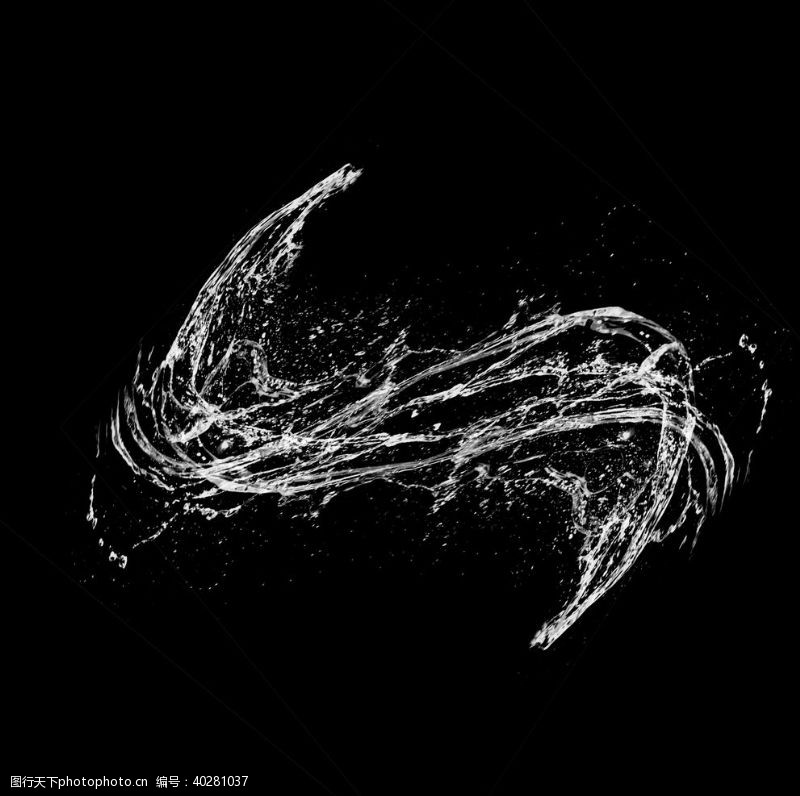 水波元素图片