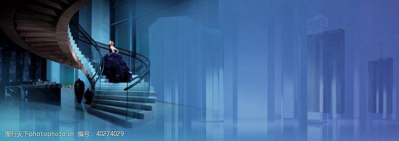 发光水晶楼梯图片