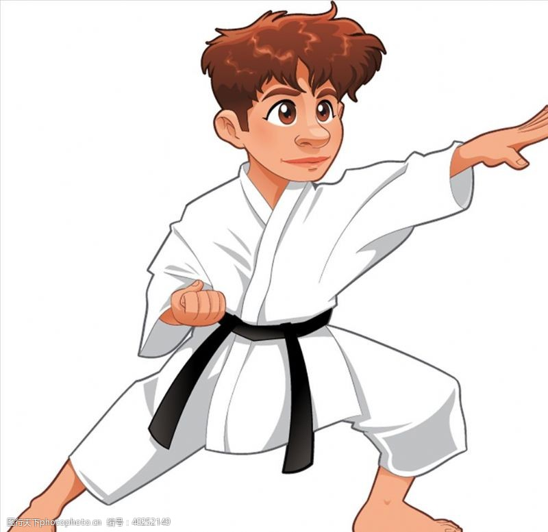 跆拳道宣传单跆拳道图片