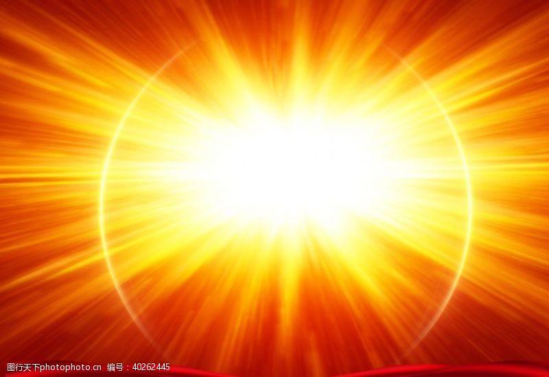 放射太阳光芒图片