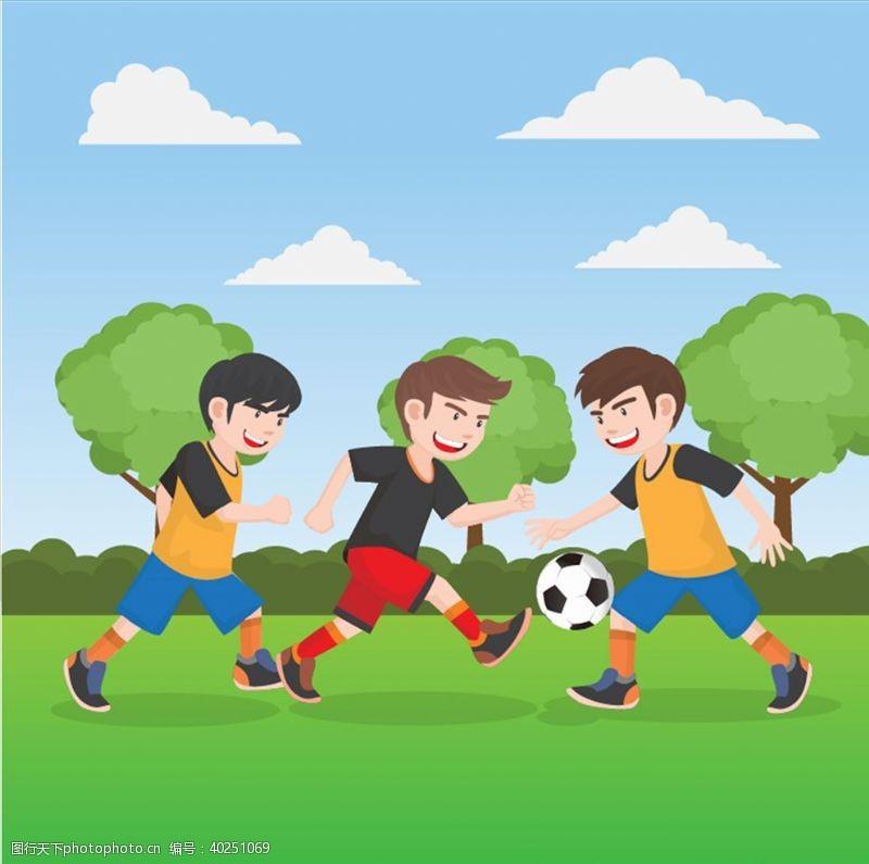 明星踢足球图片
