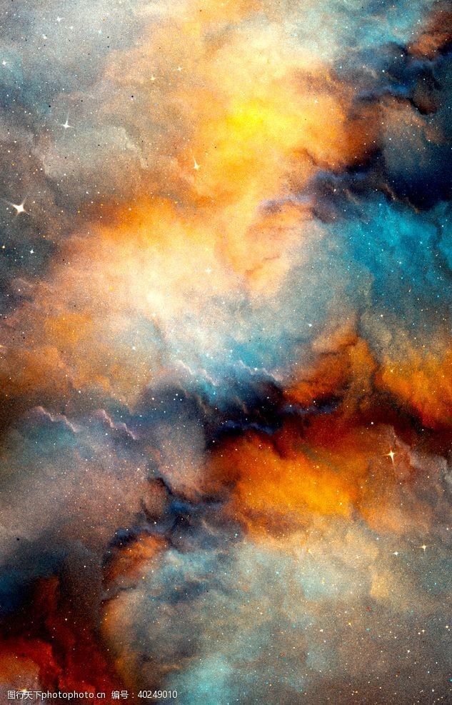 梦幻背景星空图片
