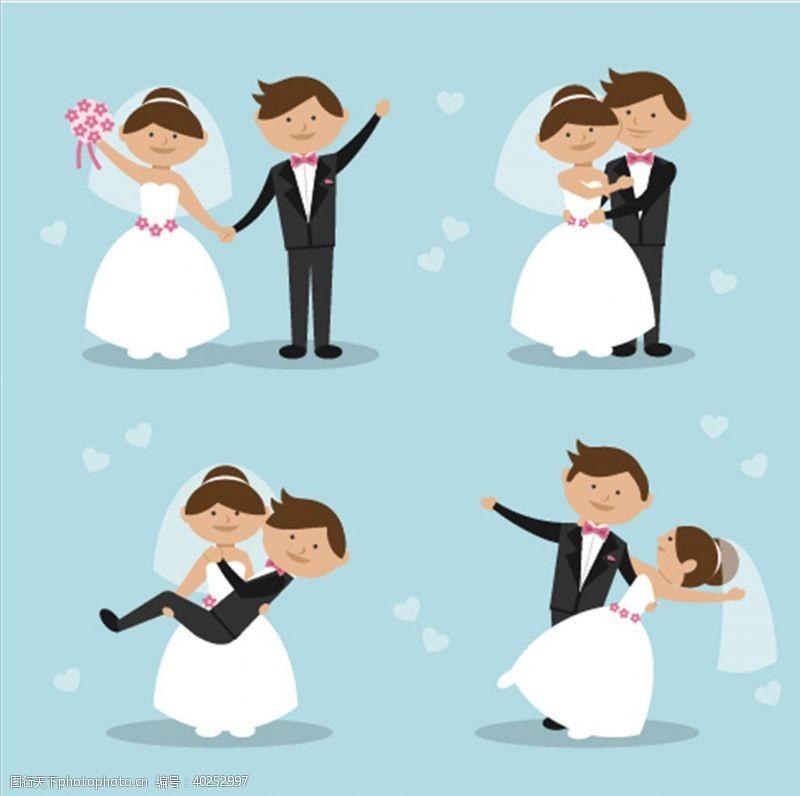 新郎新娘图片