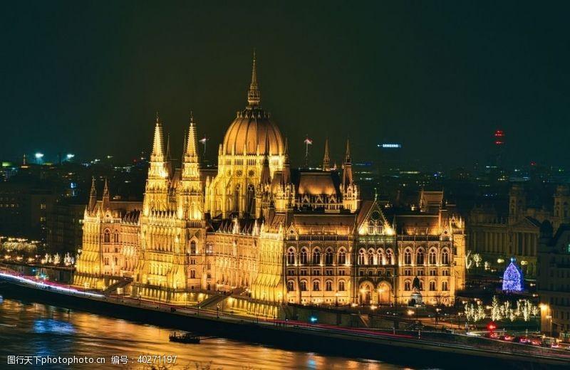 大图匈牙利国会大厦图片