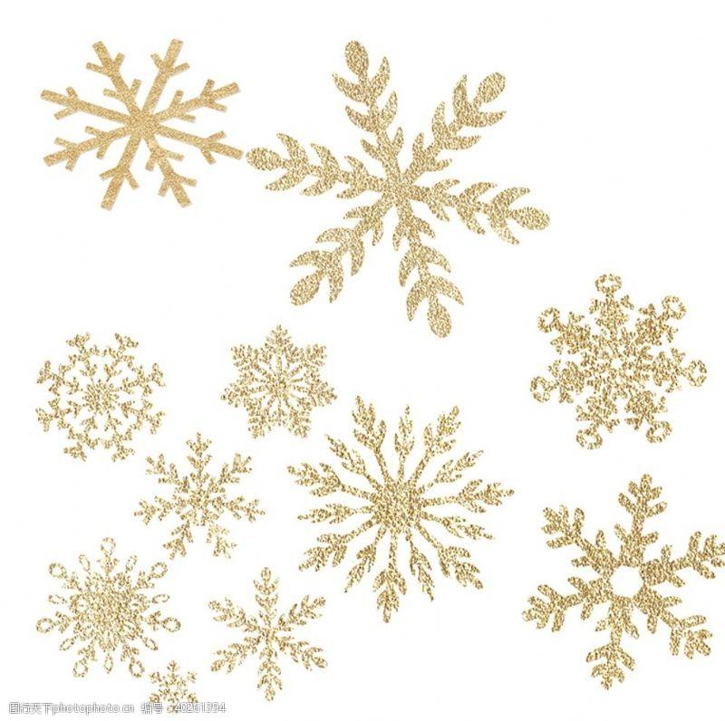 圣诞雪花雪花图片