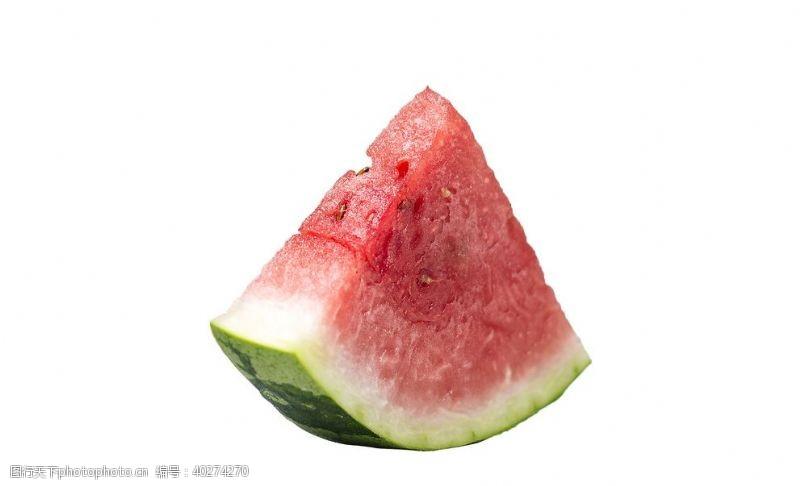 果盘一块西瓜图片