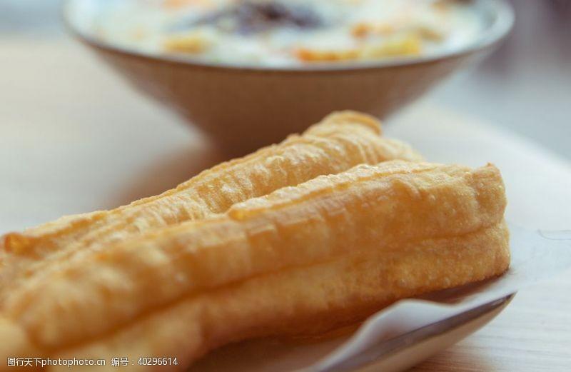 餐饮美食油条图片