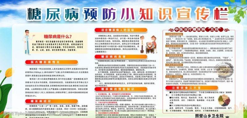 教育展板预防糖尿病图片