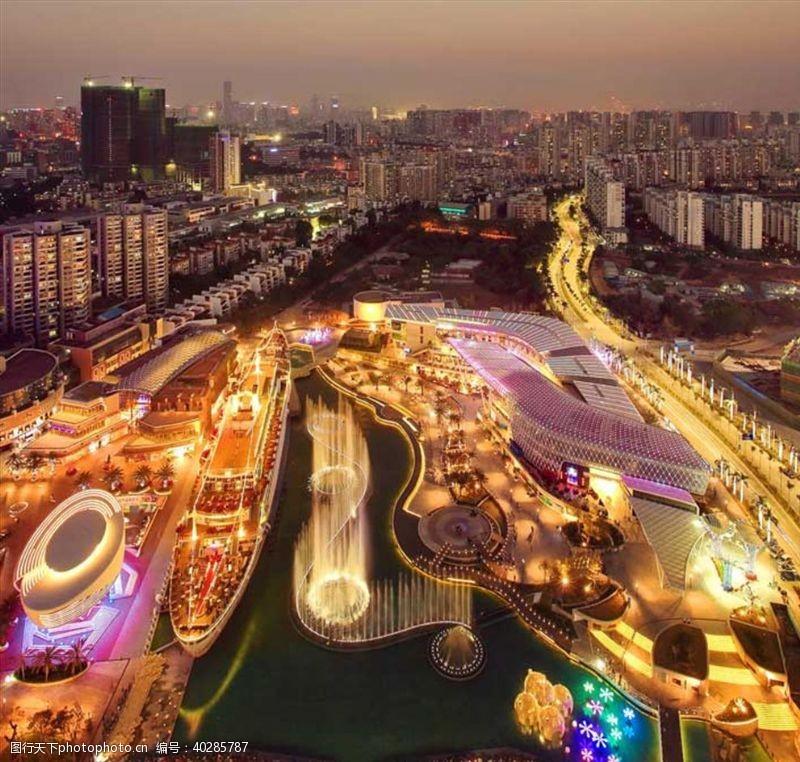 建筑背景城市图片