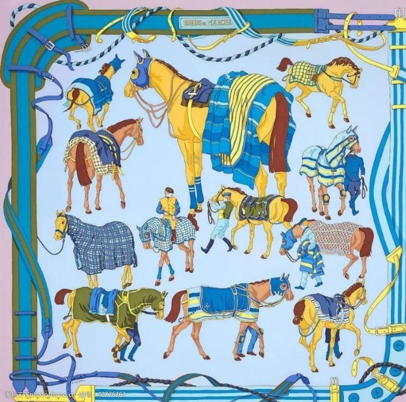 服装设计方巾图片