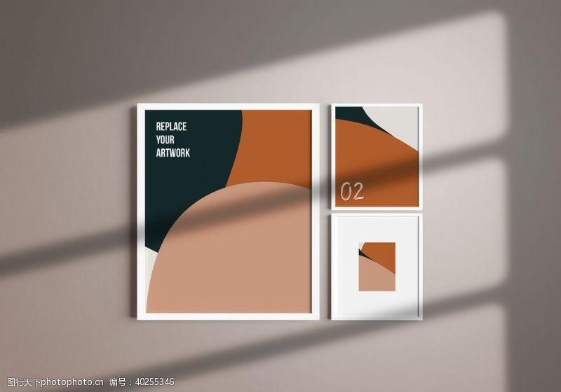 相框样机海报样机图片