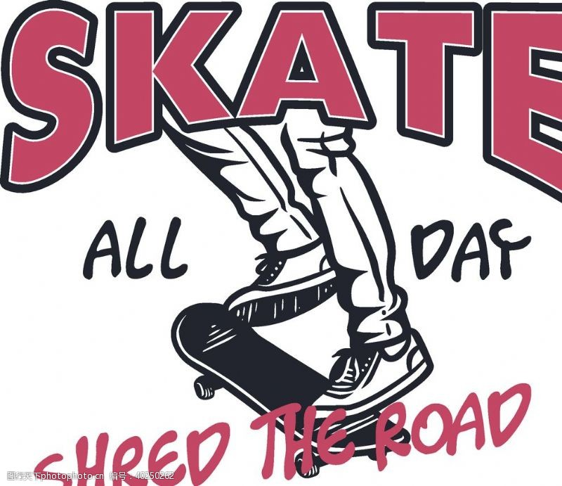 滑板体育运动SKATE图片