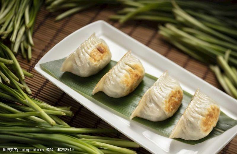 炒饭煎饺图片