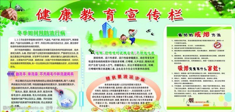 饮食健康教育宣传栏图片