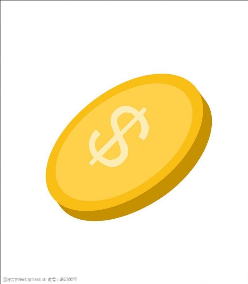cdr文件金币素材图片