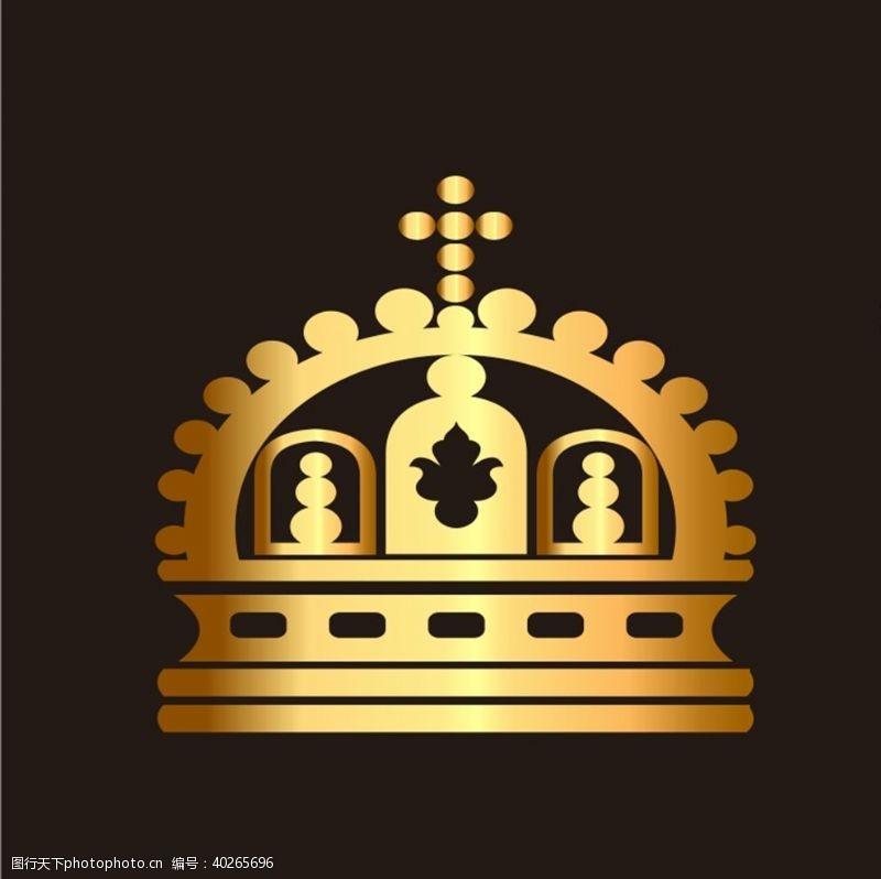 ai格式金色皇冠图片