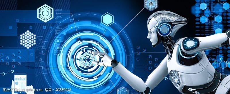 现代科技机器人图片