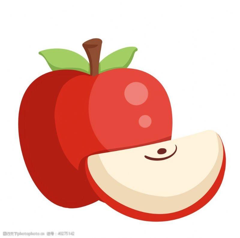 矢量水果卡通水果苹果图片