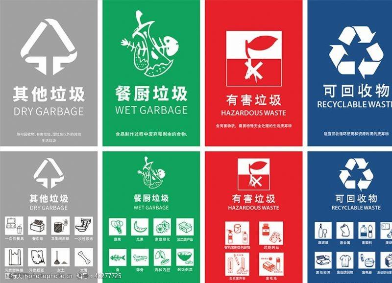 环保展板垃圾分类北京板图片