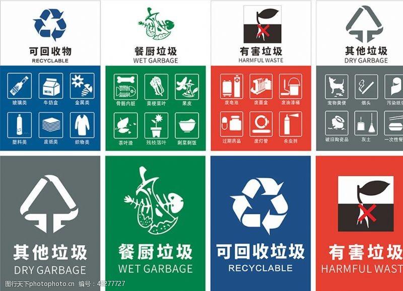 环保展板垃圾分类广州版图片