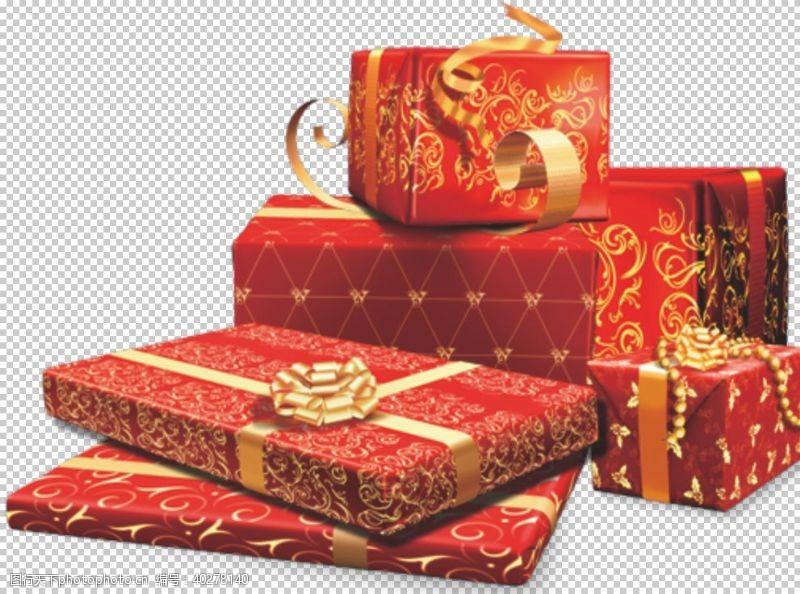 彩带礼盒图片