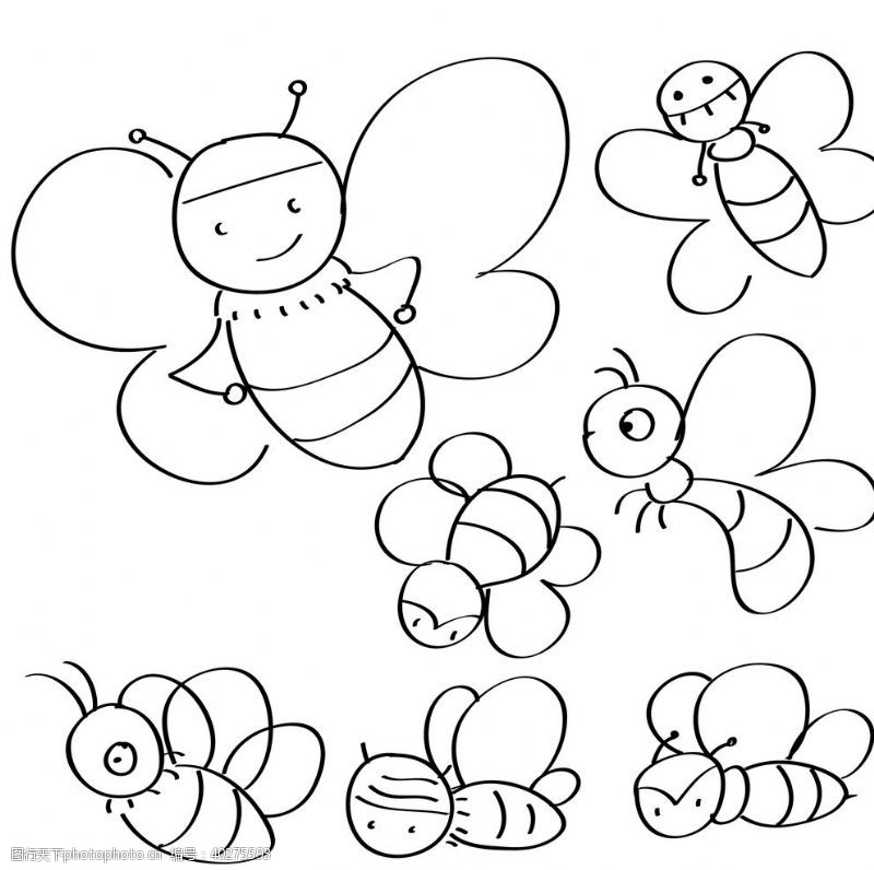 甜蜜蜂图片