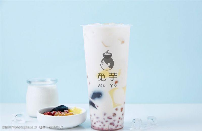 奶昔奶茶背景图片