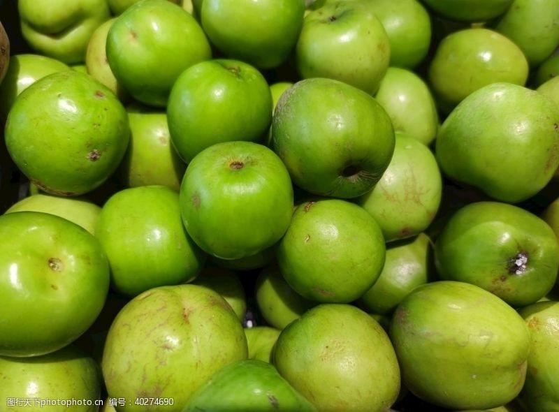 绿色青枣图片