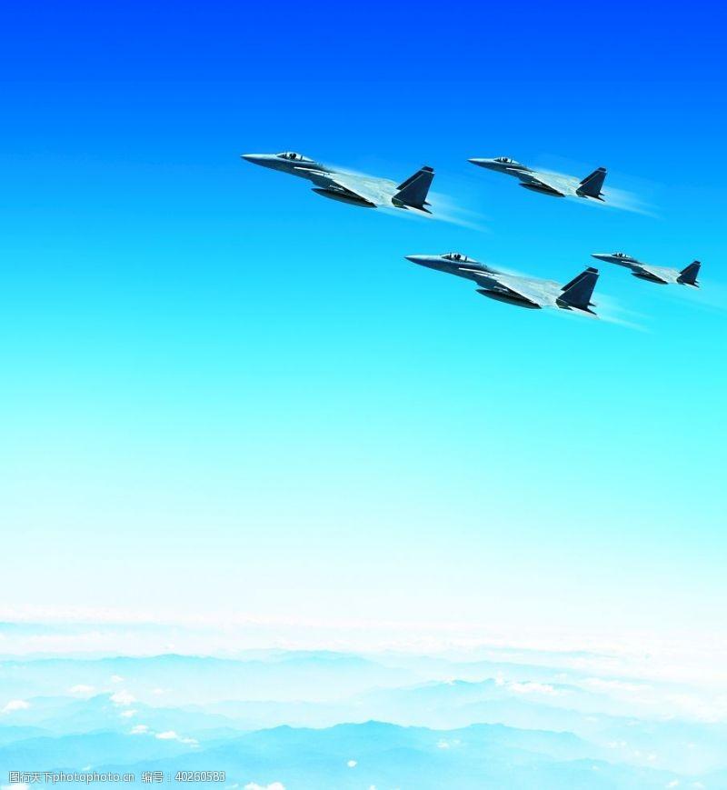 企业形象战斗机编队图片