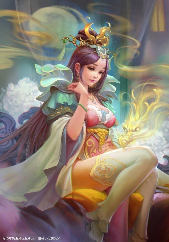 性感三国美女曹皇后图片