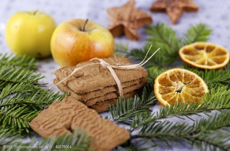 节日促销圣诞姜饼图片