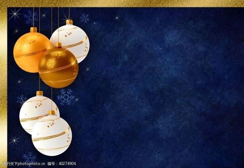 圣诞装饰圣诞节日背景图片