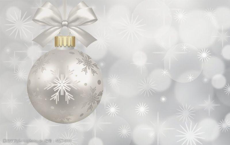 圣诞装饰背景图片