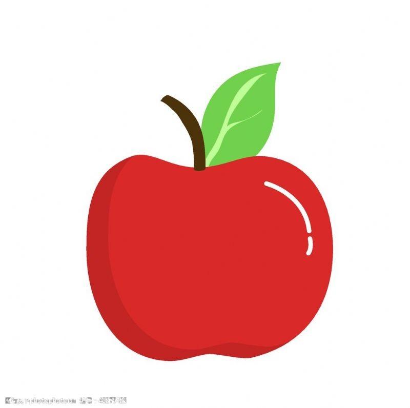矢量水果矢量卡通苹果装饰图片