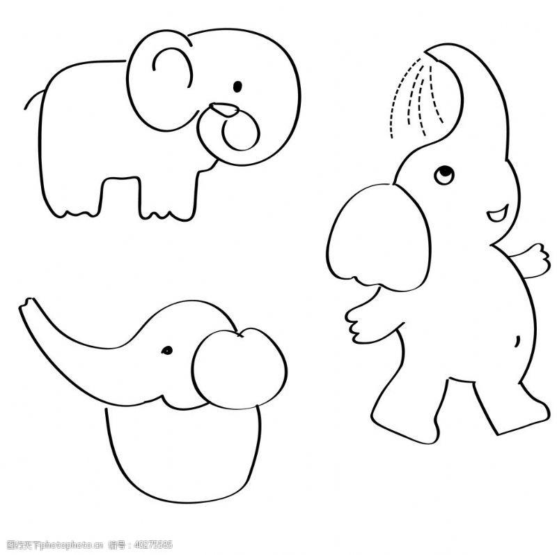 卡通素材象图片