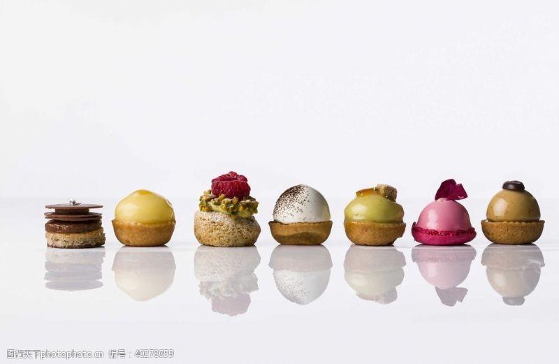 甜点下午茶水果点心摄影图片