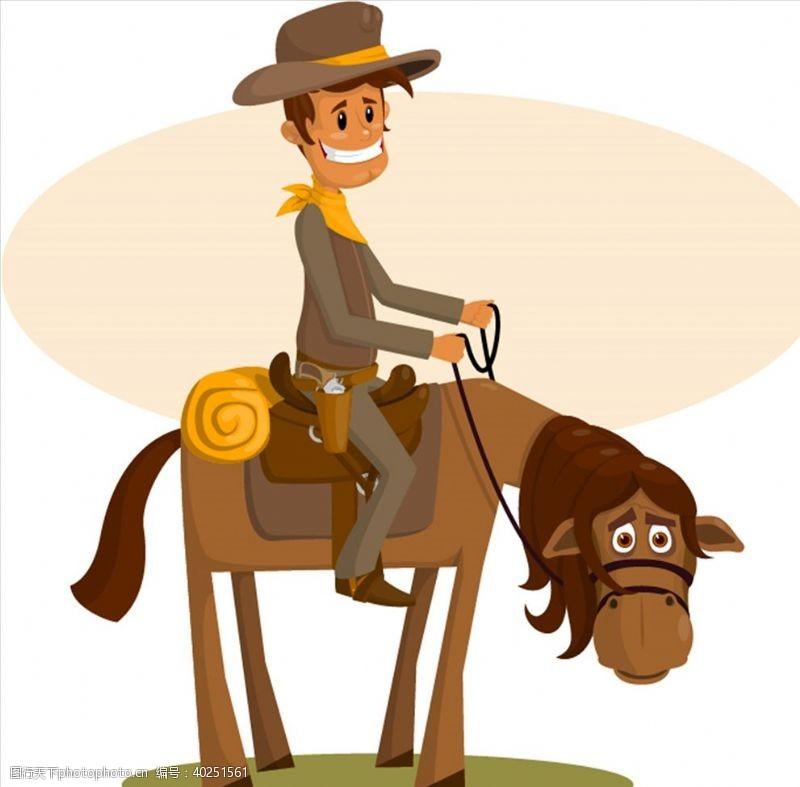 帽子西部牛仔图片
