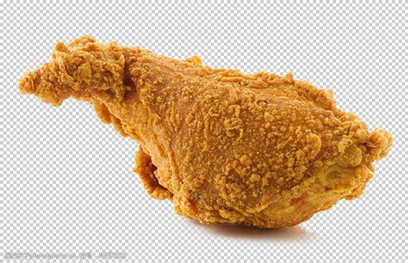 鸡翅炸鸡图片