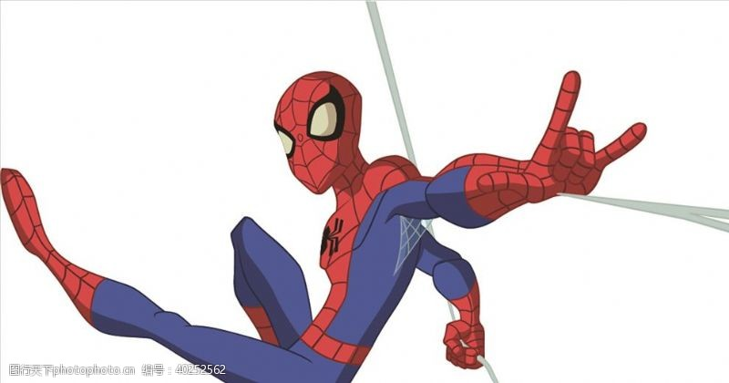 美国蜘蛛侠图片