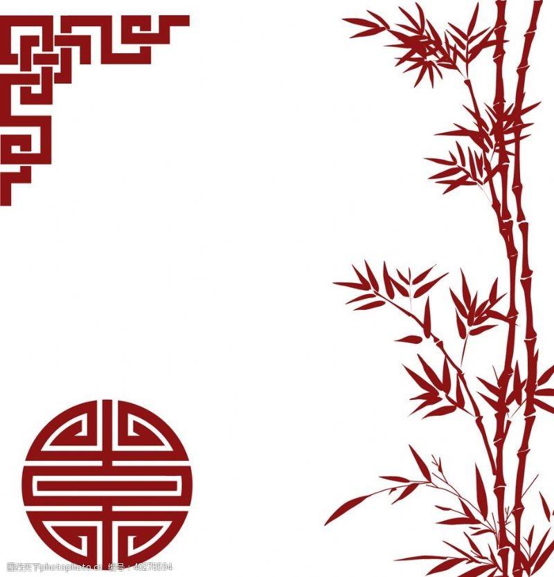 竹子中国风素材图片