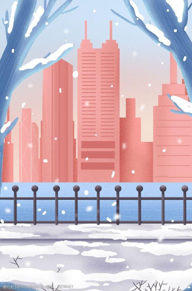 大厦城市风光图片